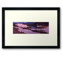 Darby river dunes - Wilsons Promontory Framed Print