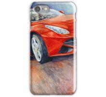 Ferrari F12 Berlinetta 2014 iPhone Case/Skin