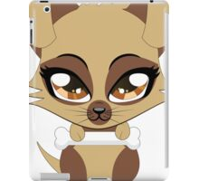 Cute little brown puppy iPad Case/Skin