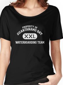 Guantanamo Bay Waterboarding Team White Women's Relaxed Fit T-Shirt
