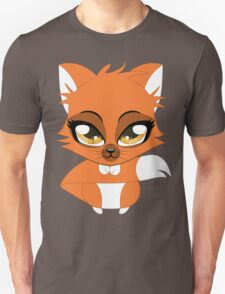 Cute cartoon little red fox T-Shirt
