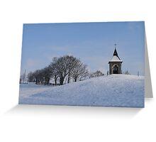 Chapel St Michel Greeting Card
