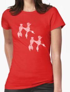 Double Trouble Pink Poodles T-Shirt
