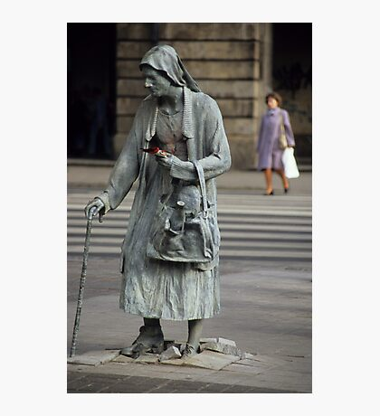 Anonymous Pedestrians Photographic Print