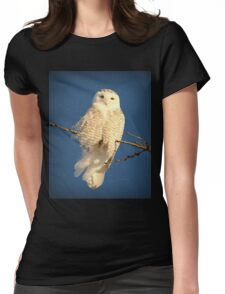 Guardian Angel Womens Fitted T-Shirt