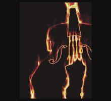 Classic violin in flame 3 T-Shirt