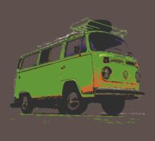Kombi camper by Virginia McGowan