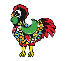Symbols of Portugal - Rooster Nr. 08 by silvianeto