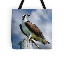 Osprey with Pike Tote Bag