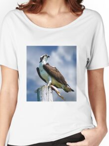 Osprey with Pike Women's Relaxed Fit T-Shirt