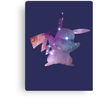 cosmic pikachu Canvas Print