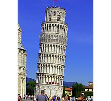 Leaning Tower Photographic Print