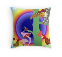 The young pretender Throw Pillow