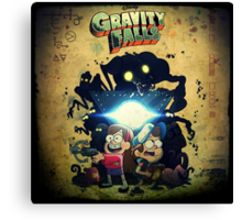 "Gravity Falls, ""This is It"" Canvas Print"