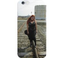 on the tracks  iPhone Case/Skin