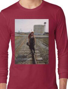 on the tracks  Long Sleeve T-Shirt