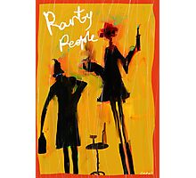 Party People Photographic Print