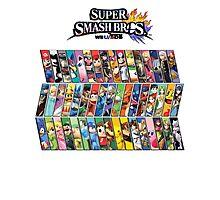 Super Smash Bros. 4 Characters Photographic Print