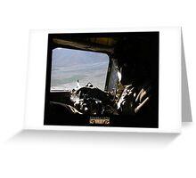 CH-47 Door Gunner Greeting Card