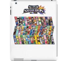 Super Smash Bros. 4 Characters iPad Case/Skin