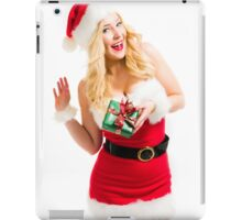 Christmas girl iPad Case/Skin