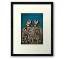 Journey into outer space Framed Print