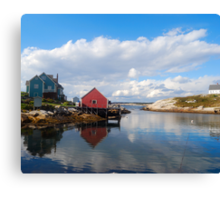 Peggy's Cove Harbor  Canvas Print