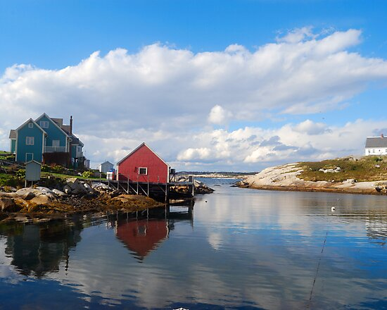 Peggy's Cove Harbor  by Shane Shaw