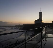 Arbroath Signal Tower at Dusk by elmilligano