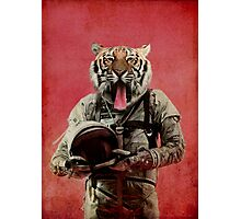 Space tiger Photographic Print