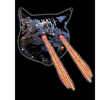Cat Bacon Lasers  Photographic Print