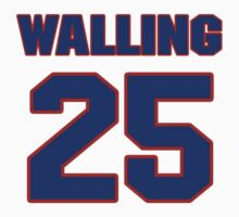 National baseball player Denny Walling jersey 25 by imsport
