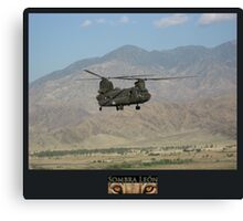 Chinook Canvas Print