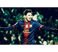 Messi's Got It Photographic Print