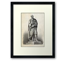 Statue of Isaac Newton Framed Print