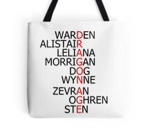 Dragon Age Companions Tote Bag
