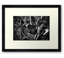 Another Lost Toy  Framed Print