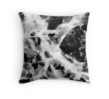 A Trickle Becomes A Flood Throw Pillow