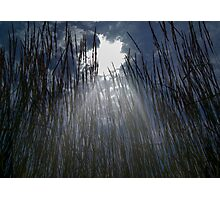 Sun Beam Through the Clouds Photographic Print