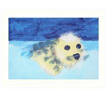 Seal Pup - Rhian Art Print