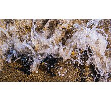Water Meets Rock 1 Photographic Print