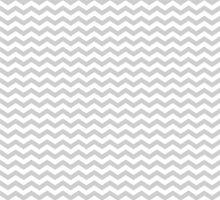 Gray White Chevron Zigzag Pattern by TigerLynx