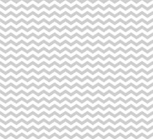 Gray White Chevron Zigzag Pattern by TigerLynx