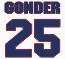 National baseball player Jesse Gonder jersey 25 by imsport