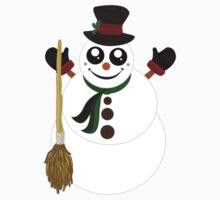 Snowman (3) One Piece - Long Sleeve