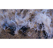 Water Meets Rock #2 Photographic Print