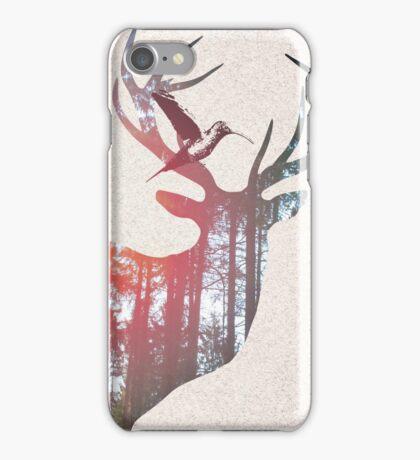 Deer & Bird iPhone Case/Skin