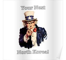 Your Next North Korea! Poster