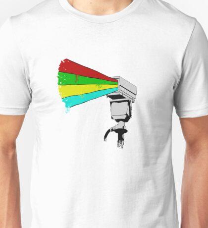 Colourful Surveillance Unisex T-Shirt