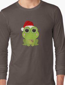 Christmas Frog Long Sleeve T-Shirt